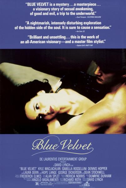 Blue Velvet movie font