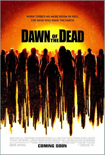 Dawn of the Dead movie font