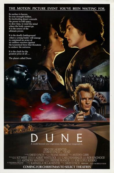 Dune movie font