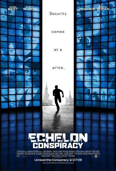 Echelon Conspiracy movie font