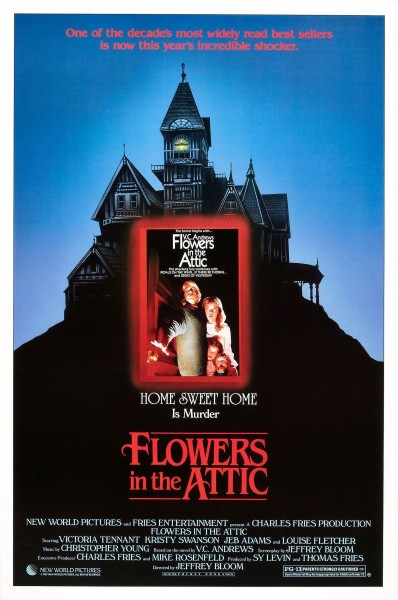 Flowers in the Attic movie font