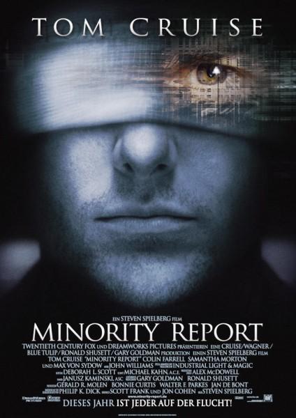 Minority Report movie font