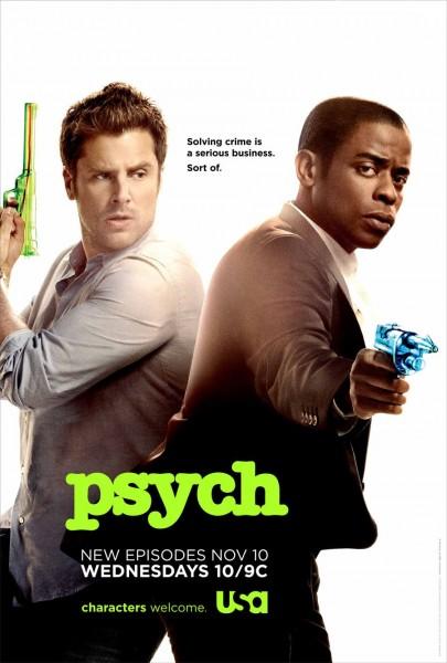 Psych movie font