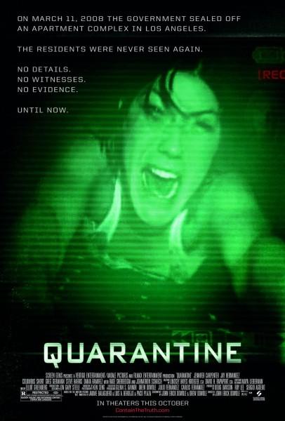 Quarantine movie font