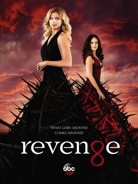 Revenge movie font