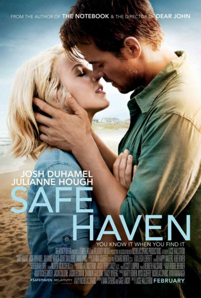 Safe Haven movie font