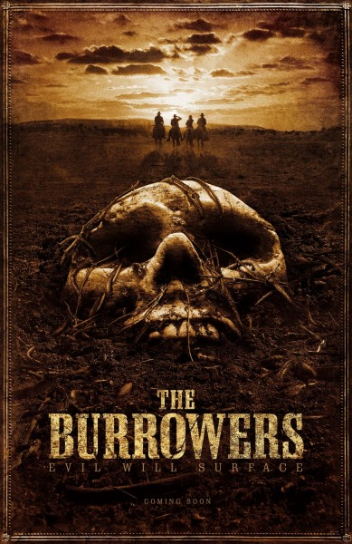 The Burrowers movie font