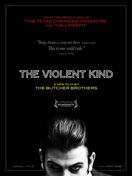 The Violent Kind movie font