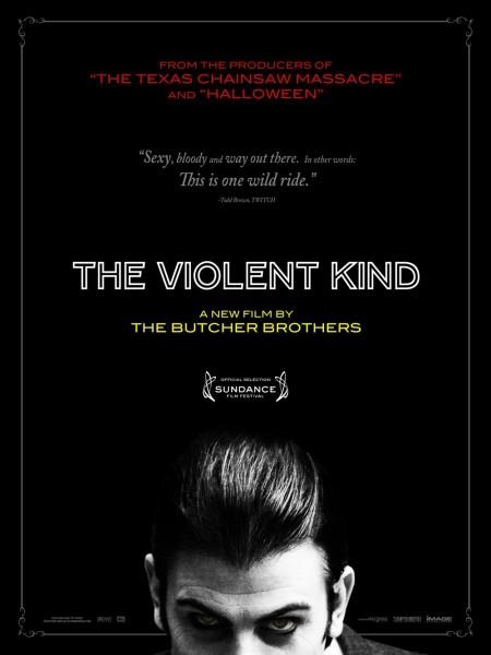 The Violent Kind movie font