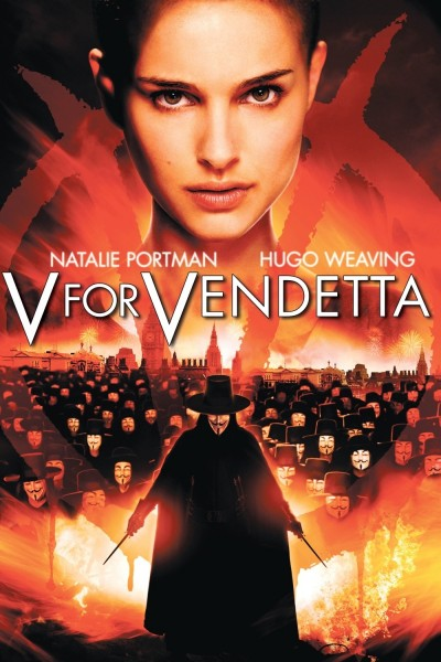 V for Vendetta movie font