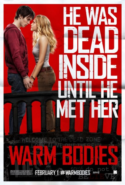Warm Bodies movie font