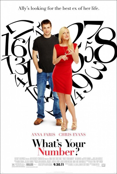 What's Your Number movie font