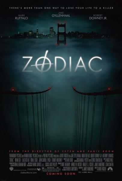 Zodiac movie font