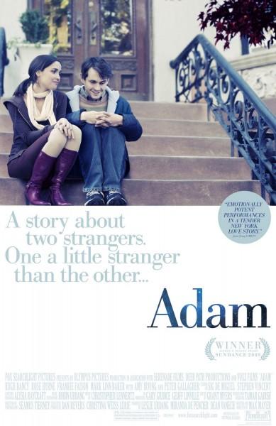 Adam movie font