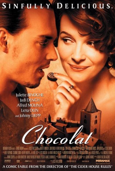 Chocolat movie font