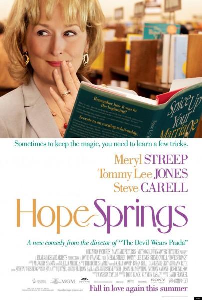 Hope Springs movie font