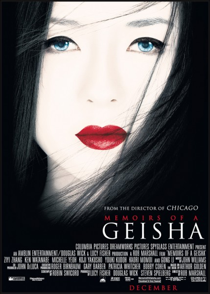 Memoirs of a Geisha movie font