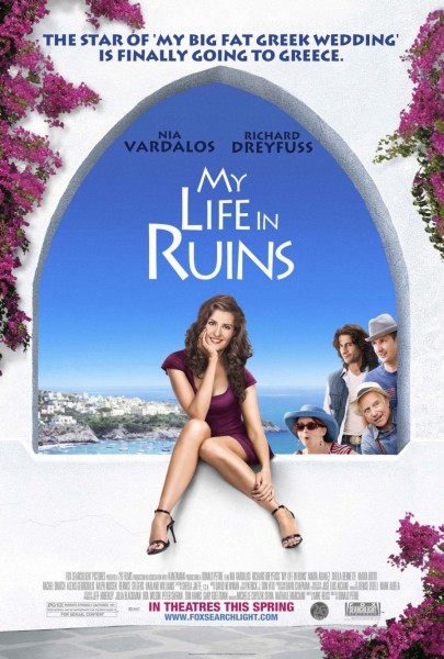My Life in Ruins movie font