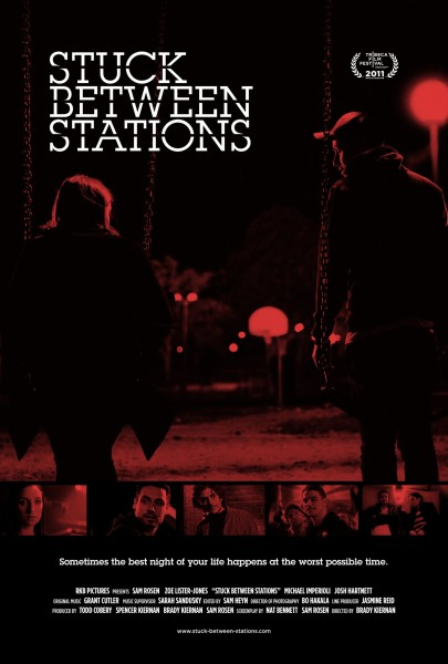Stuck Between Stations movie font