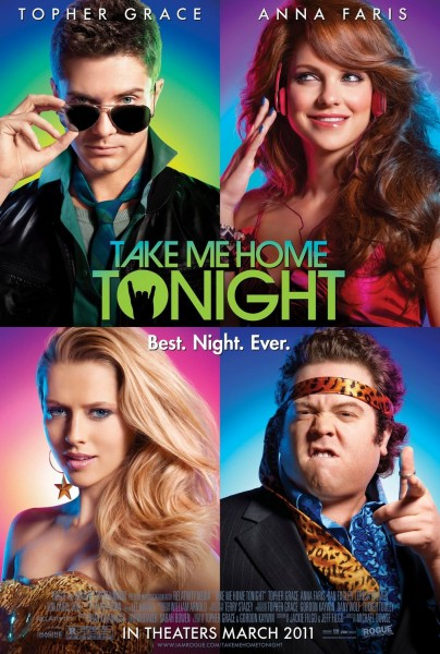 Take Me Home Tonight movie font