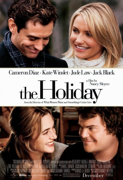 The Holiday movie font