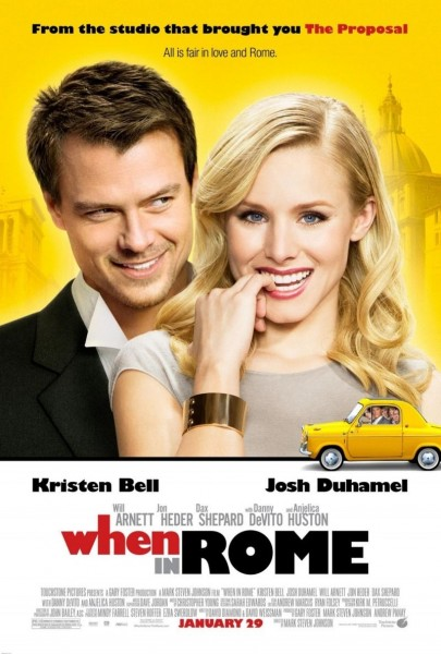 When in Rome movie font