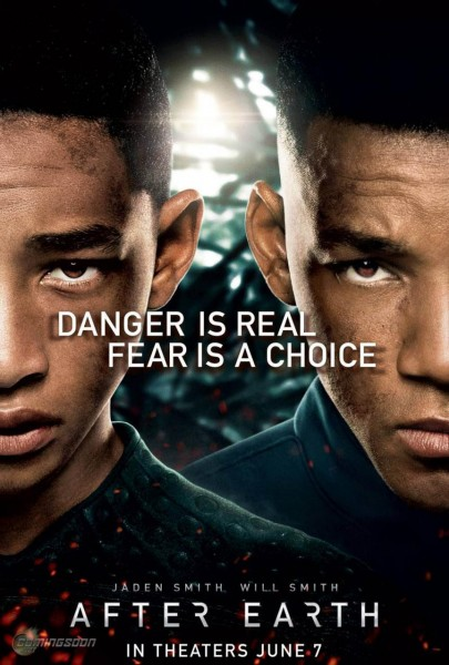 After Earth movie font