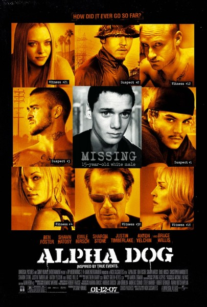 Alpha Dog movie font