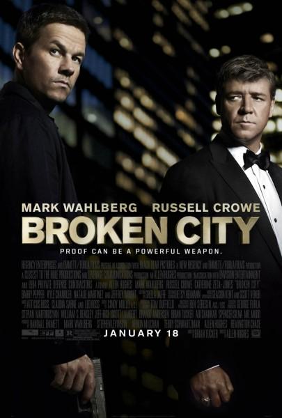 Broken City movie font