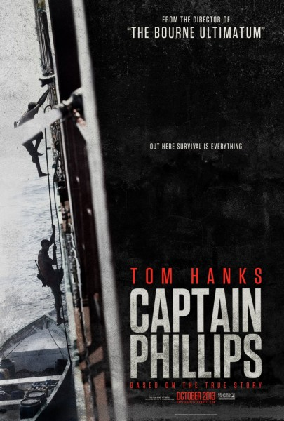 Captain Phillips movie font