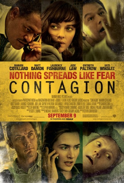 Contagion movie font