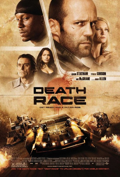 Death Race movie font