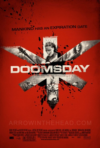 Doomsday movie font