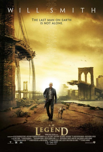 I Am Legend movie font
