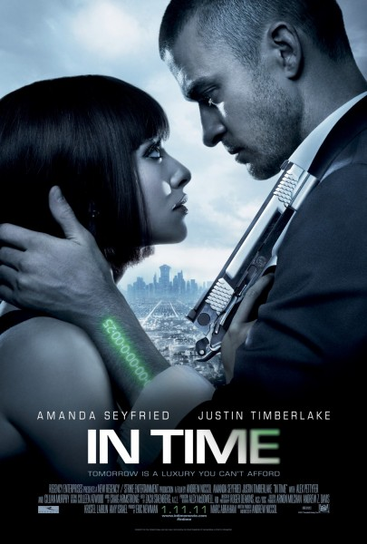 In Time movie font