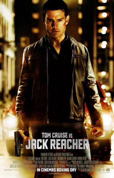 Jack Reacher movie font