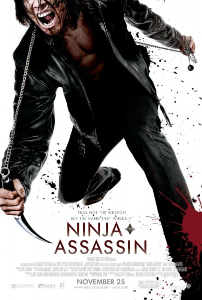 Ninja Assassin movie font