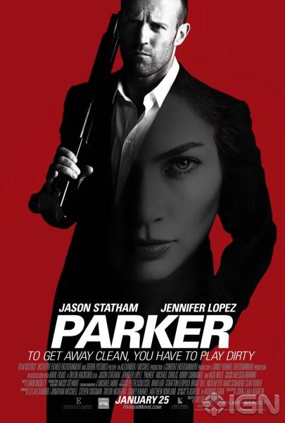Parker movie font