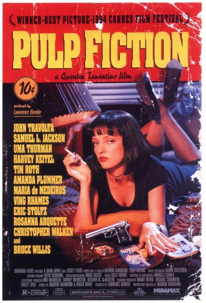 Pulp Fiction movie font