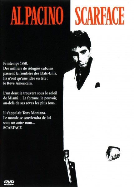 Scarface movie font