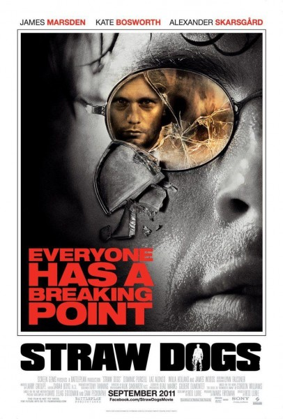 Straw Dogs movie font