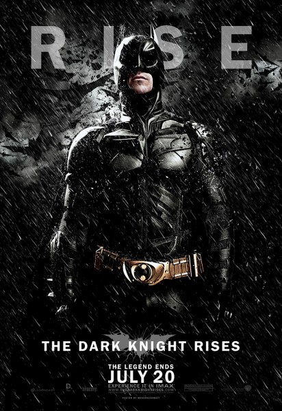 The Dark Knight Rises movie font