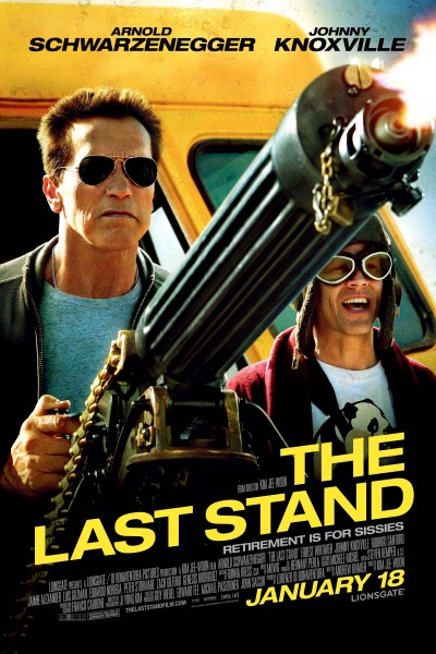 The Last Stand movie font