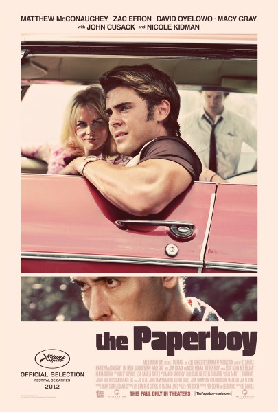 The Paperboy movie font