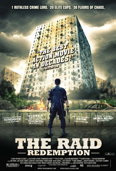 The Raid: Redemption movie font