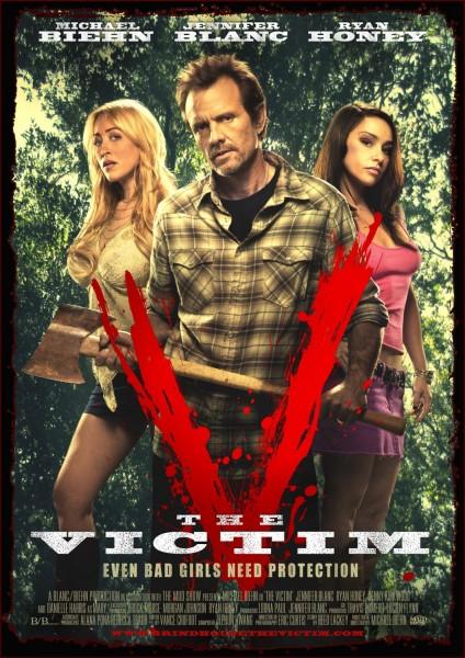 The Victim movie font