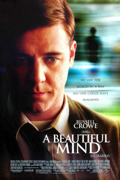 A Beautiful Mind movie font