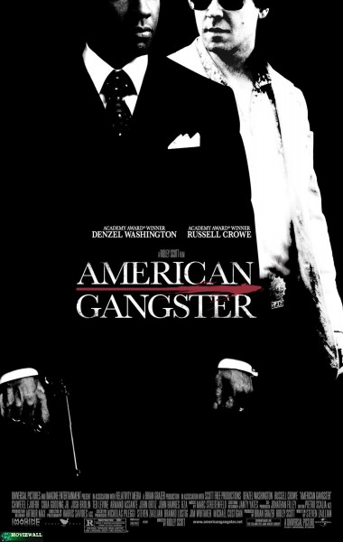 American Gangster movie font