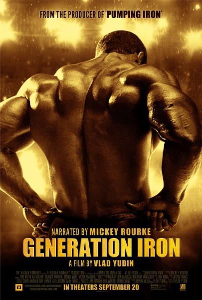 Generation Iron movie font