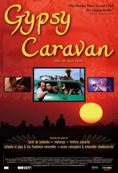 Gypsy Caravan movie font
